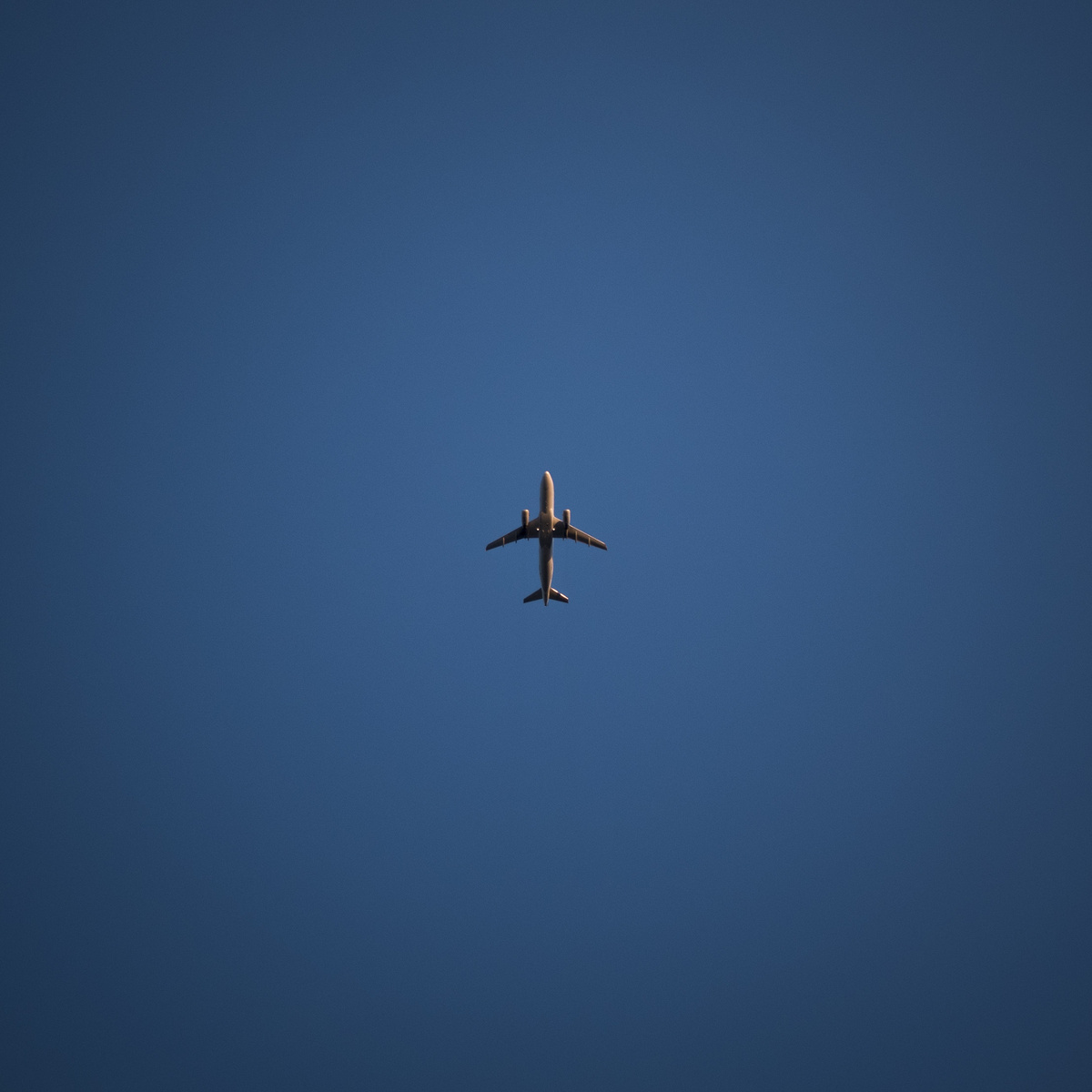overhead flight