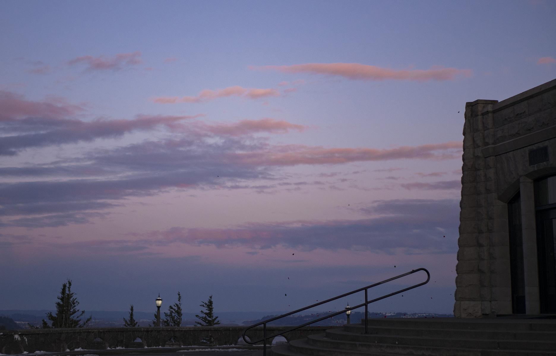 sunrise past crown point
